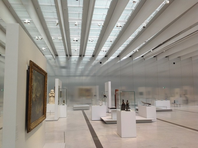 Louvre Museum in Lens, France