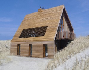 Wooden Dune House